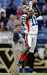 31 December 2006: Buffalo Bills wide receiver Roscoe Parrish (11) warms up prior to a game against the Baltimore Ravens at M&amp;T Bank Stadium in Baltimore, Maryland. The Ravens defeated the Bills 19-7. Mandatory Photo Credit: Ed Wolfstein Photo.<br />