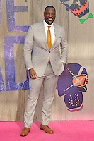 Adewale Akinnuoye-Agbaje at the &quot;Suicide Squad&quot; European film premiere, Odeon Leicester Square cinema, Leicester Square, London, England, UK, on Wednesday 03 August 2016.<br /> CAP/CAN<br /> &copy;CAN/Capital Pictures /MediaPunch ***NORTH AND SOUTH AMERICAS ONLY***