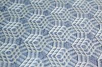 Tessellation designed and folded by Ralf Konrad, Germany, on display at OrigamiUSA 2013