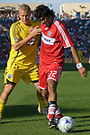 Wilman Conde, Chicago Fire and Steven Lenhart, Columbus Crew