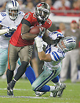 The Cowboys defeated the Buccaneers 31-15 in an NFL game Saturday, Dec. 17, 2011, in Tampa, Fla. (AP Photo/Margaret Bowles)