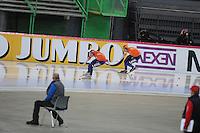 SPEED SKATING: HAMAR: Vikingskipet, 05-03-2017, ISU World Championship Allround, 1500m Men, Patrick Roest (NED), Sven Kramer (NED), ©photo Martin de Jong