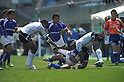 APRIL 1, 2012 - Rugby : APRIL 1, 2012 - Rugby : HSBC Sevens World Series Tokyo Sevens 2012, Samoa 24-21 Fiji at Chichibunomiya Rugby Stadium, Tokyo, Japan. (Photo by Atsushi Tomura /AFLO SPORT) [1035]