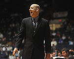 "Ole Miss head coach Andy Kennedy at the C.M. ""Tad"" Smith Coliseum in Oxford, Miss. on Thursday, December 29, 2010. Ole Miss won 100-62. (AP Photo/Oxford Eagle, Bruce Newman)"