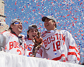 090414 - Boston University Men's Hockey National Championship Parade and Celebration