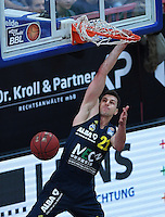 Basketball  1. Bundesliga  2016/2017  Hauptrunde  14. Spieltag  16.12.2016 Walter Tigers Tuebingen - Alba Berlin Dunking; Dragan Milosavljevic (Alba)