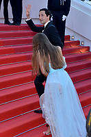 Adrien Brody with his girlfriend Lara Lieto at the Opening Movie &acute;Les Fantomes d Ismael`  screening during The 70th Annual Cannes Film Festival on May 17, 2017 in Cannes, France.<br /> CAP/LAF<br /> &copy;Lafitte/Capital Pictures /MediaPunch ***NORTH AND SOUTH AMERICAS, CANADA and MEXICO ONLY***