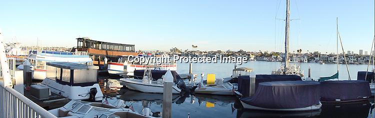 Stock photograph Newport Beach California