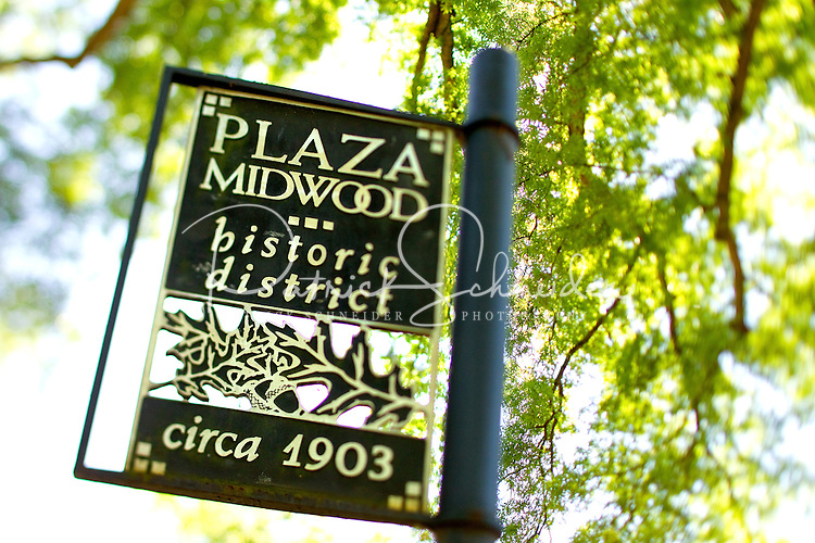 Photography of Charlotte NC's Plaza Midwood neighborhood. Plaza-Midwood is located about one mile northeast of Charlotte's Center City area. It is roughly bounded by Hawthorne Lane, The Plaza, Briar Creek Road and Central Avenue. Locally, Plaza Midwood is considered one of Charlotte's most diverse and eclectic neighborhoods for its art galleries, restaurants and clever retail offerings.