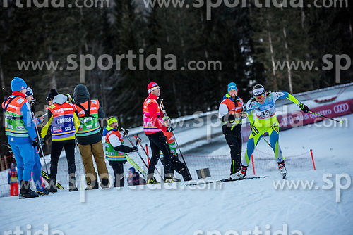 Lea Einfalt of Slovenia during Ladies 1.2 km Free Sprint Qualification race at FIS Cross Country World Cup Planica 2016, on January 16, 2016 at Planica, Slovenia. Photo By Grega Valancic / Sportida