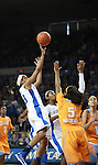 UK guard Bria Goss shoots the ball during the second half of the UK Hoops vs. Tennessee at Memorial Coliseum in Lexington, Ky., on Sunday, March 3, 2013. Photo by Emily Wuetcher | Staff....
