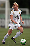 30 August 2009: Frida Ostberg of Umea IK. The WPS All-Star team defeated the visiting Umea IK 4-2 in the first annual post season All-Star game of the Women's Professional  Soccer league at Anheuser-Busch Soccer Park, in Fenton, MO.