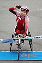 Wakako Tsuchida (JPN), .February 26, 2012 - Marathon : .Tokyo Marathon 2012, Wheelchair Race .at Tokyo Big Sight, Tokyo, Japan. .(Photo by AJPS/AFLO SPORT) [1045]