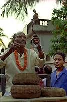In Bishnapur in the state of West Bengal in East India the ritualistic tradition of charming the Cobras before the Manasa festival has been a yearly event for as long as anyone can remember.