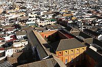 General view of the old city from Giralda Minaret, Seville Cathedral, Andalusia, Spain, pictured on December 27, 2006 in the morning. Picture by Manuel Cohen