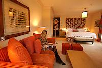 Junior Suite, The Soho Hotel, Firmdale Hotels, Richmond Mews, Soho, London, Great Britain, UK