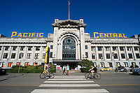 The Pacific Central Station in Vancouver, BC, Canada