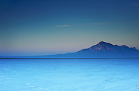 color at the bonneville salt flats, using graduated filters