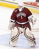 Laura Bellamy (Harvard - 1) - The Harvard University Crimson defeated the Northeastern University Huskies 4-3 (SO) in the opening round of the Beanpot on Tuesday, February 8, 2011, at Conte Forum in Chestnut Hill, Massachusetts.