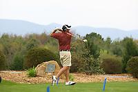 A golfer in Greene County, Va.