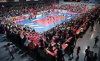 Volleyball 1. Bundesliga Saison 2016/2017 28.12.2016 TV Rottenburg - VfB Friedrichshafen