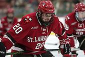 Joe Sullivan (SLU - 20) - The Harvard University Crimson defeated the St. Lawrence University Saints 6-3 (EN) to clinch the ECAC playoffs first seed and a share in the regular season championship on senior night, Saturday, February 25, 2017, at Bright-Landry Hockey Center in Boston, Massachusetts.