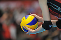 The detailed shot,.MAY 23, 2012 - Volleyball : FIVB the Women's World Olympic Qualification Tournament for the London Olympics 2012, between Japan 1-3 Korea at Tokyo Metropolitan Gymnasium, Tokyo, Japan. (Photo by Jun Tsukida/AFLO SPORT) [0003].