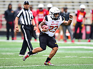 College Park, MD - APR 22, 2016: Maryland Terrapins running back Lorenzo Harrison (23) in action during the 2017 Spring game at Capital One Field at Maryland Stadium in College Park, MD. (Photo by Phil Peters/Media Images International)
