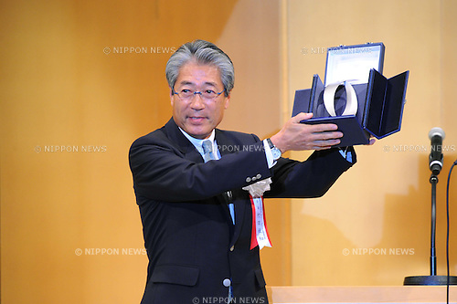 JOC Tsunekazu Takeda, JULY 16th, 2011 : Japan Sport Association and Japanese Olympic Committee 100th Anniversary Commemorative Reception in Tokyo, Japan. (Photo by YUTAKA/AFLO SPORT)