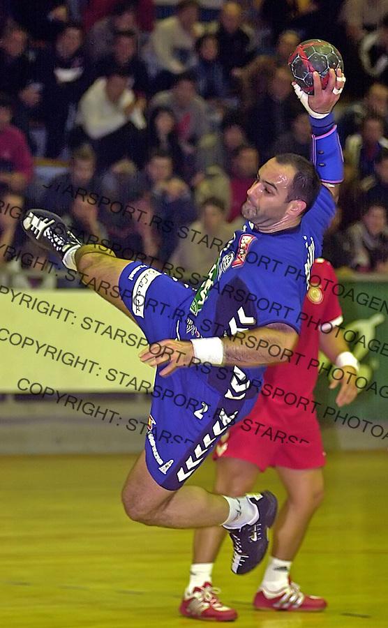 SPORT RUKOMET REPREZENTACIJA SCG Ratomir Djurkovic 19.1.2005. foto: Pedja Milosavljevic