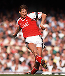 Tony Adams (Arsenal) Arsenal v Everton 31/3/90 Credit: Colorsport/Andrew Cowie.