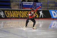 SPEEDSKATING: CALGARY: Olympic Oval, 25-02-2017, ISU World Sprint Championships, 500m Men, An Liu (CHN), ©photo Martin de Jong