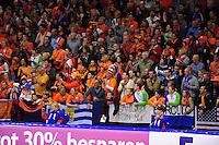 SCHAATSEN: HEERENVEEN: IJsstadion Thialf, 25-03-2012, Essent ISU WK afstanden, publiek, ©foto Martin de Jong