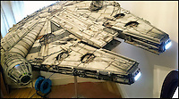 Out of this world Millennium Falcon model.
