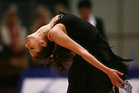 Eleni Andriola of Greece performs gala exhibition at 2006 Burgas Grand Prix from Burgas, Bulgaria on May 7, 2006.  (Photo by Tom Theobald)