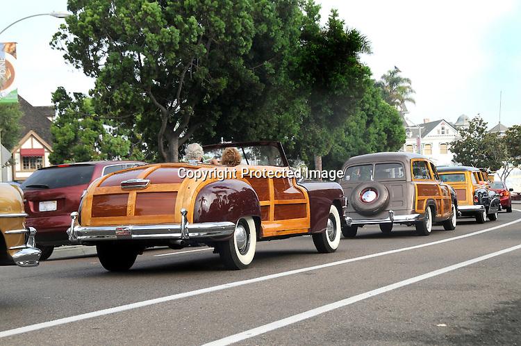 Woodies on Parade