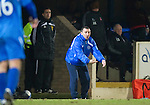 St Johnstone v Aberdeen....02.03.11 .Derek McInnes shows his frustration.Picture by Graeme Hart..Copyright Perthshire Picture Agency.Tel: 01738 623350  Mobile: 07990 594431