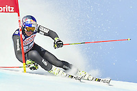February 17, 2017: Alexis PINTURAULT (FRA) competing in the men's giant slalom event at the FIS Alpine World Ski Championships at St Moritz, Switzerland. Photo Sydney Low