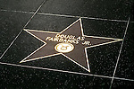 Douglas Fairbanks Jr. star on the Hollywood Blvd. Walk of Fame