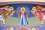 Iconography by Miloje Milinkovic at St. Petka Serbian Orthodox Church, San Marcos, CA
