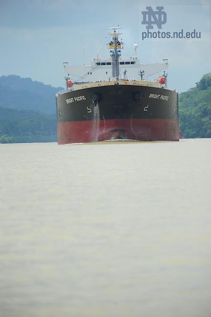 Panama Canal shipping..Photo by Matt Cashore/University of Notre Dame