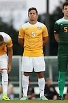 05 September 2016: VCU's Juan Fajardo Ortiz (HON). The University of North Carolina Tar Heels hosted the Virginia Commonwealth University Rams at Fetzer Field in Chapel Hill, North Carolina in a 2016 NCAA Division I Men's Soccer match. UNC won the game 3-2.