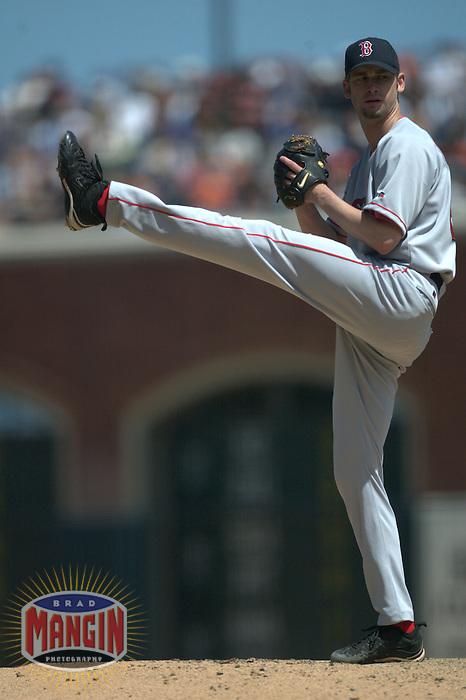 Bronson Arroyo. Boston Red Sox vs San Francisco Giants. San Francisco, CA 6/20/2004 MANDATORY CREDIT: Brad Mangin