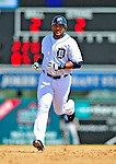 11 March 2009: Detroit Tigers' outfielder Gary Sheffield 'rounds the bases after hitting a solo home run during a Spring Training game against the New York Yankees at Joker Marchant Stadium in Lakeland, Florida. The Tigers defeated the Yankees 7-4 in the Grapefruit League matchup. Mandatory Photo Credit: Ed Wolfstein Photo