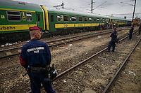 Refugee crisis: thousands at  Budapest train station. Budapest, Hungary. Sept. 03, 2015
