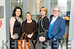 At the Fashion Show in aid of Aughacasla School on Friday at the Rose Hotel. Pictured Rebekah Wall, Eileen Wall, Aina Wall and Danny Leane