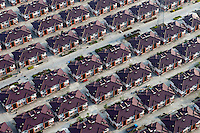 Rows of identical houses in the city of Jiangyin. /Felix Features