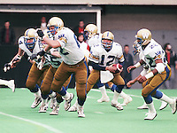 John Hufnagel Winnipeg Blue Bombers 1986. Copyright photograph Scott Grant/