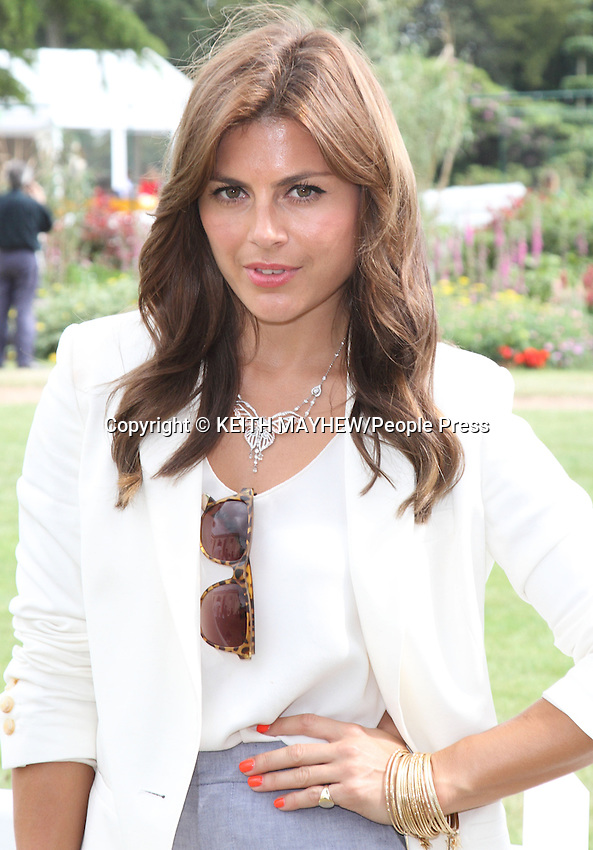 TV PresenterZoe Hardman at The Boodles Tennis Challenge held at Stoke Park, Buckinghamshire, UK - June 21st 2013<br /> <br /> Photo by Keith Mayhew
