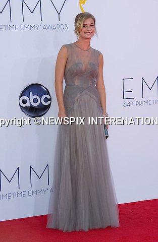 "EMILY VANCAMP - 64TH PRIME TIME EMMY AWARDS.Nokia Theatre Live, Los Angelees_23/09/2012.Mandatory Credit Photo: ©Dias/NEWSPIX INTERNATIONAL..**ALL FEES PAYABLE TO: ""NEWSPIX INTERNATIONAL""**..IMMEDIATE CONFIRMATION OF USAGE REQUIRED:.Newspix International, 31 Chinnery Hill, Bishop's Stortford, ENGLAND CM23 3PS.Tel:+441279 324672  ; Fax: +441279656877.Mobile:  07775681153.e-mail: info@newspixinternational.co.uk"